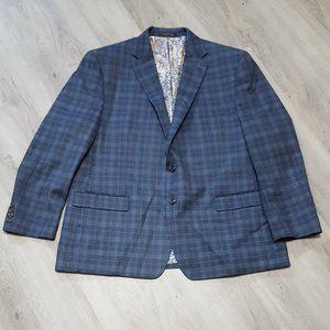 Lauren Ralph Lauren Suits & Blazers - Lauren Ralph Lauren Blue Plaid Sport Coat, 50R